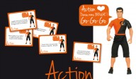 Jeu Action/Vérité - Cartes Action