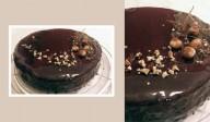 Gâteau Chocolat, Pralin & Caramel beurre salé