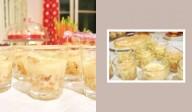Mousse au chocolat blanc & pommes caramélisées